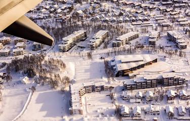 Aerial view Tromsø, Norway