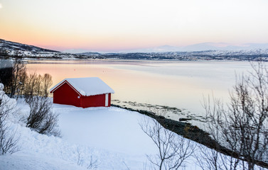 Kvaløya island, Norway