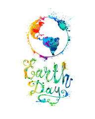 EARTH DAY. April 22.