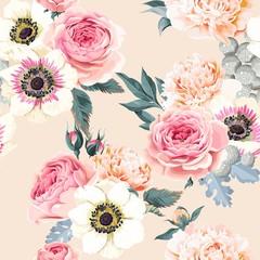 Seamless wedding flowers