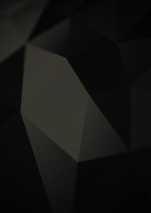 Polygon style abstract background