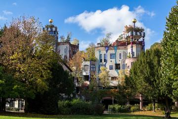 Hundertwasser house, Bad Soden, Germany