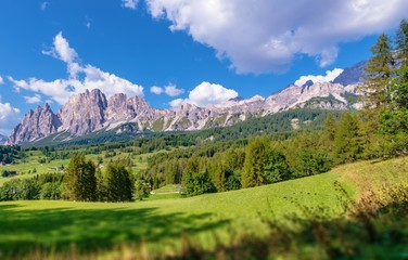 Wall Mural - Cortina Scenic Mountains