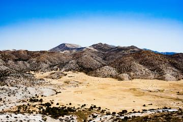 Dry mountains of Crete, Greece