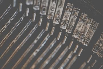 Typewriter Types Background