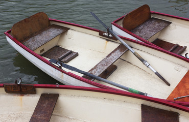 Boats, Canal, Versailles Palace, France