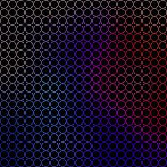 abstract illustration - small colored circles