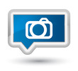 Camera icon prime blue banner button