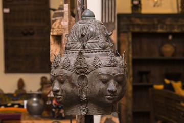 bronze buddha statue , home decoration