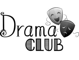 Drama Club Lettering