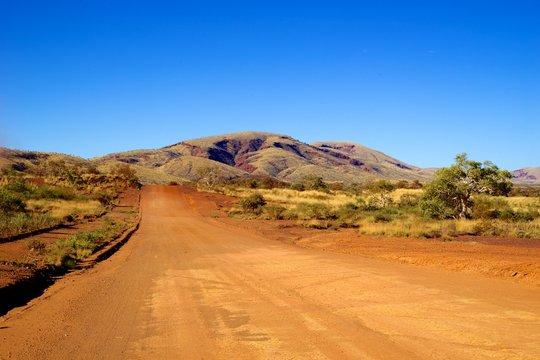 dirt road outback australia