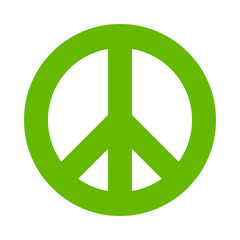 symbol of peace , vector icon
