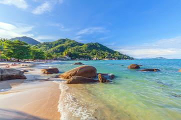 Silver Beach in Koh Samui in Thailand.