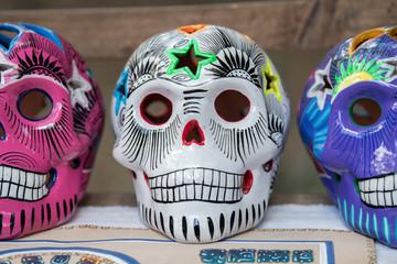 maya skull in mexico