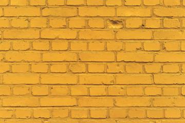 Yellow brick stone wall background