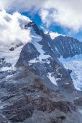 Gipfel vom Großglockner - mit 3798 Metern der höchste Berg in Österreich