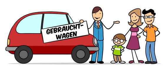Gebrauchtwagen kaufen im Autohaus