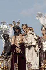 paso de misterio de la hermandad de San Benito, semana santa de Sevilla