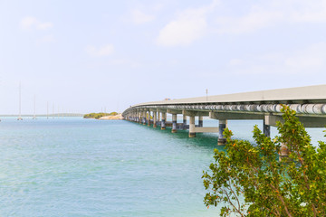 The Overseas Highway in the Keys