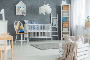 Creative style baby bedroom
