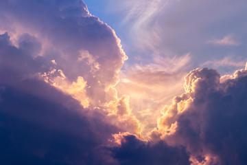 Dramatic sky Fotoväggar