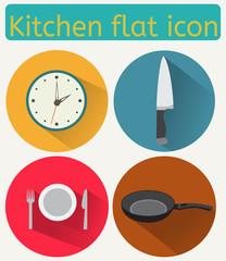 Kitchen flat icon