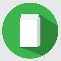 Carton pack icon