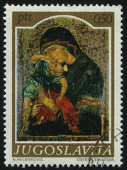 medievel icon Madonna