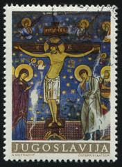 fresco from monastery