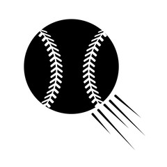 contour ball to play baseballl icon