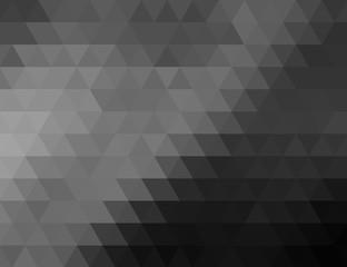 Vector gray triangular background