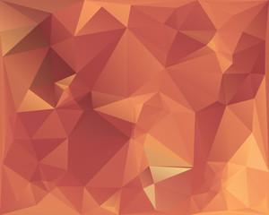Golden polygonal pattern