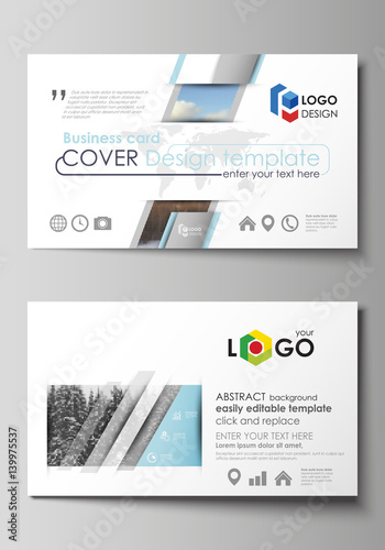 Business card templates easy editable layout vector design business card templates easy editable layout vector design template abstract landscape of nature accmission Gallery