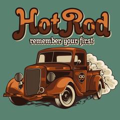 hot road car