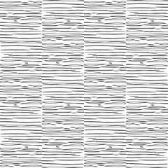 horizontal outline black shapes