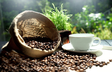 In de dag Cafe Fresh coffee is a health drink. If you drink in moderation