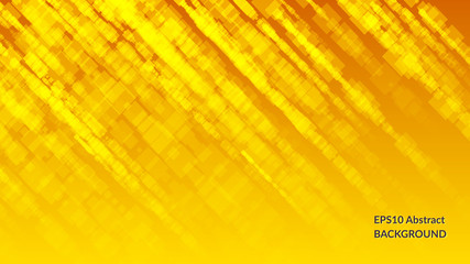Abstract bright background with set of square shapes.