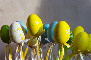 Happy Easter decorations
