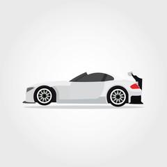 Sport Car Design Vector