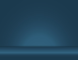 blue light rays room studio background vector