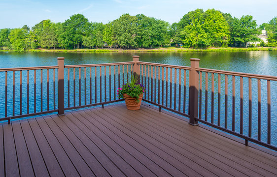 Stock photo of deck