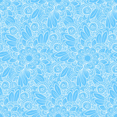 Ethnic decorative ornamental seamless pattern