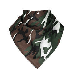 bandana, white background