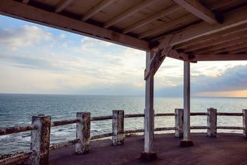海の見えるテラス