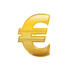 Euro Money currency icon vector illustration graphic design