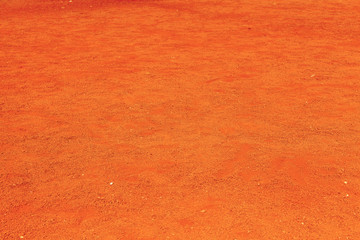 sol terre rouge