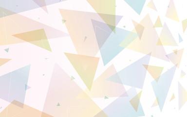 背景 三角形 イメージ