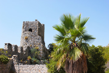 Travel to North Cyprus, the ancient Castle of St. Hilarion with the Museum