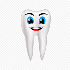 Smile healthy tooth