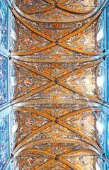 Panorama of the ceiling in Parma Cathedral